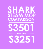 SharkNinja Steam Mop Comparison: S3501 vs S3251