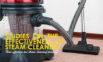 Studies on The Effectiveness of Steam Cleaners