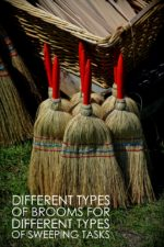 Different Types of Brooms for Different Sweeping Tasks