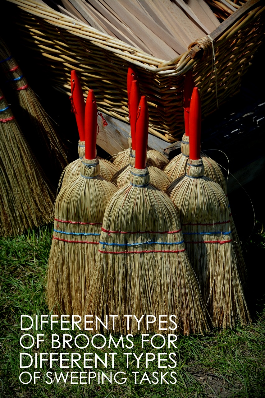 Types of brooms