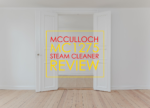McCulloch MC1275 Steam Cleaner Review
