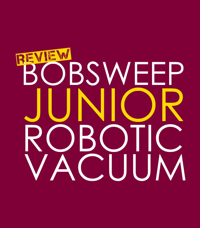 bObsweep Junior Robotic Vacuum Review