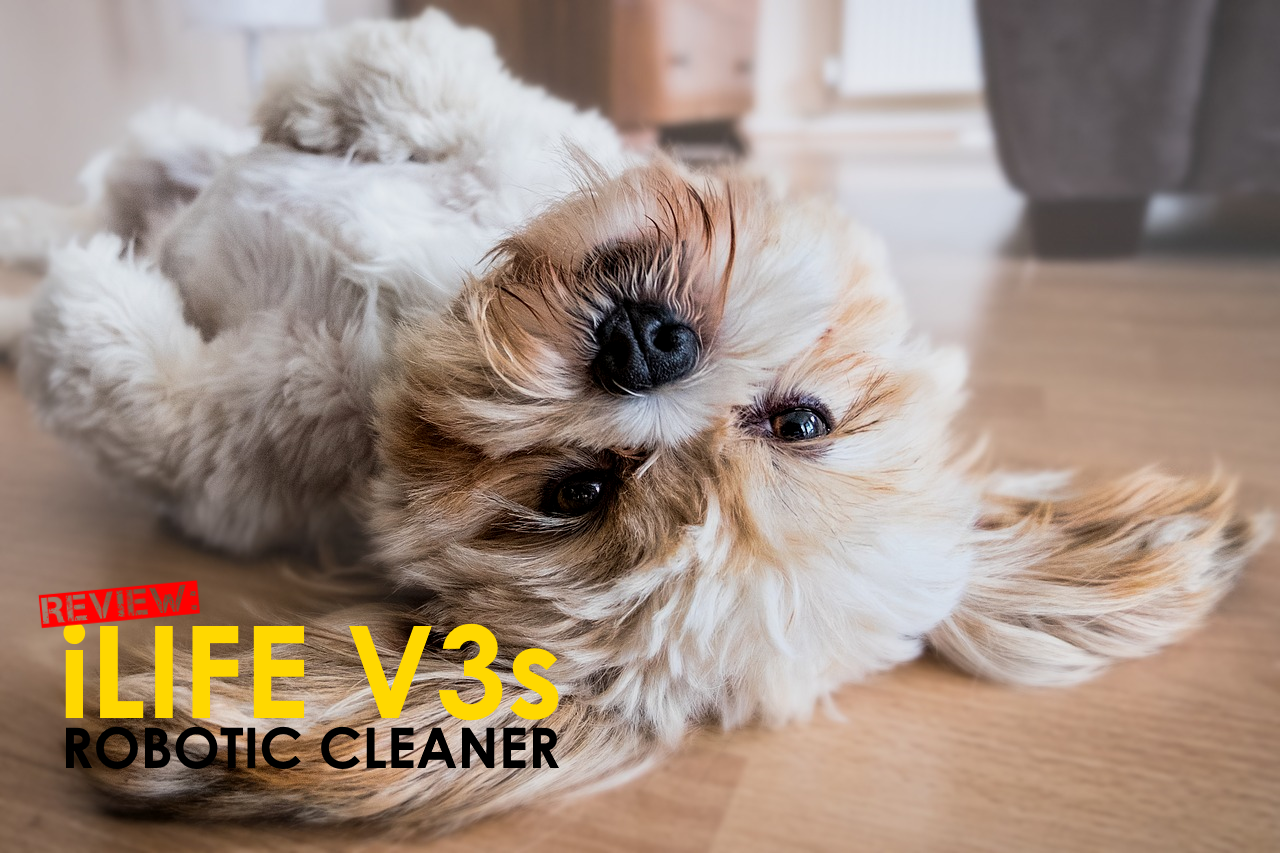 iLife V3s review robotic cleaner